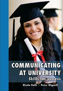 Communicating at University text book Prospect Prospect Area Preview