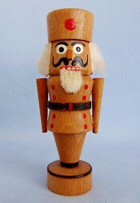 Vintage German Erzgebirge Christmas Display Ornament Nutcracker