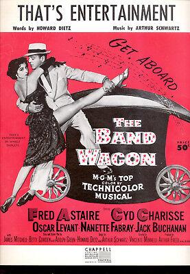 THE BAND WAGON Sheet Music