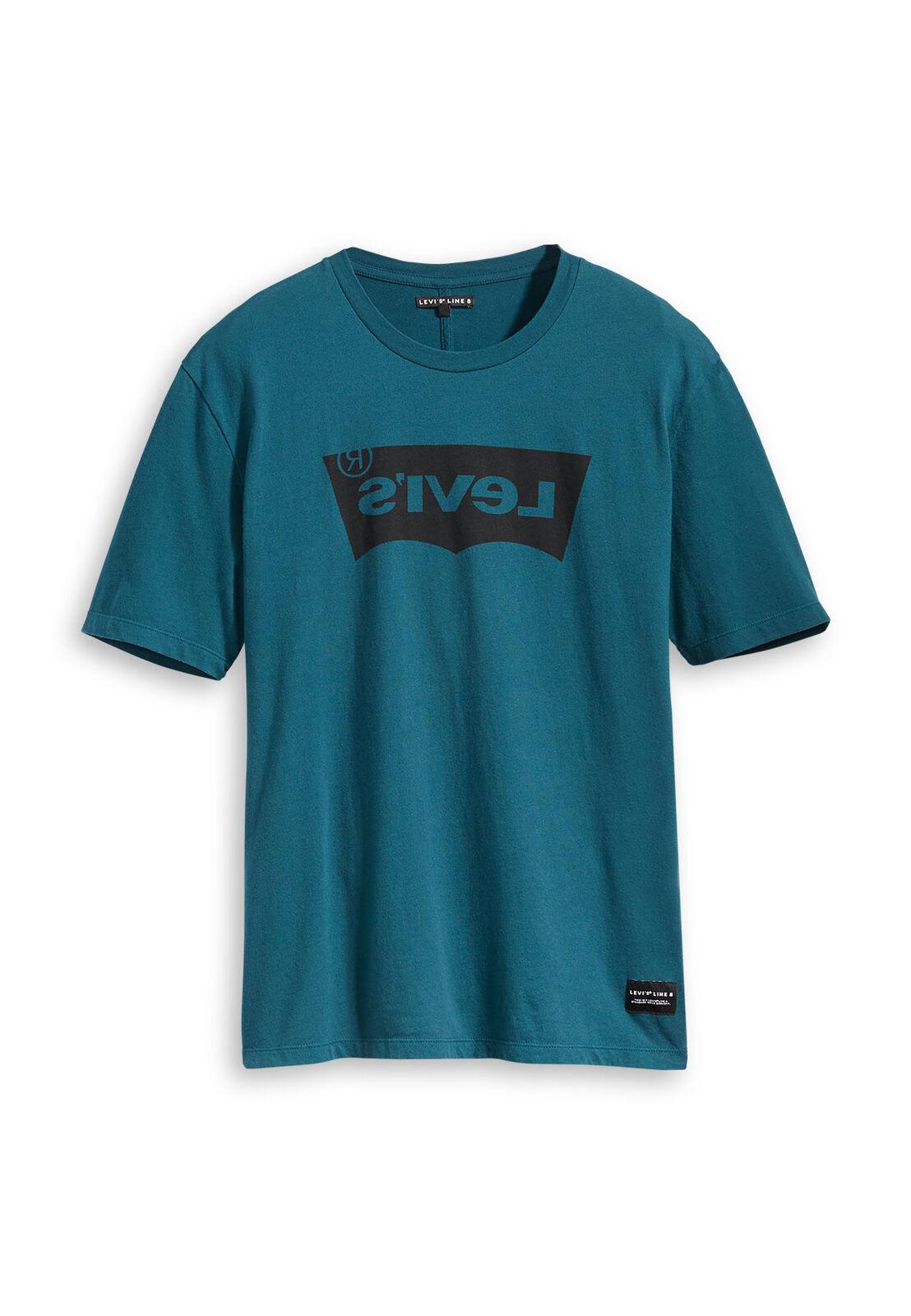 Levis Herren T-Shirt LINE 8 HOUSEMARK GRAPHIC TEE 29554-0034 Grün