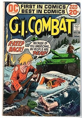 G.I. Combat #155 Featuring The Haunted Tank, Fine Condition'