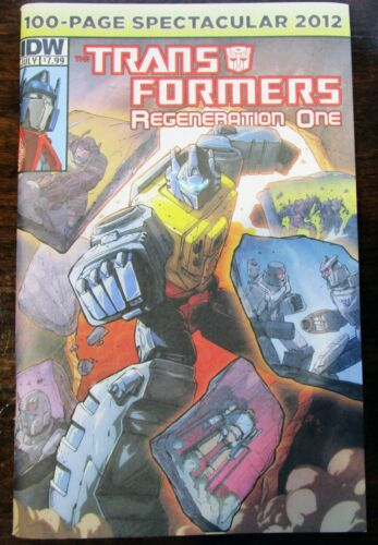 Transformers Regeneration One 100 Page Spectacular 2012 Comic One-Shot IDW Comic