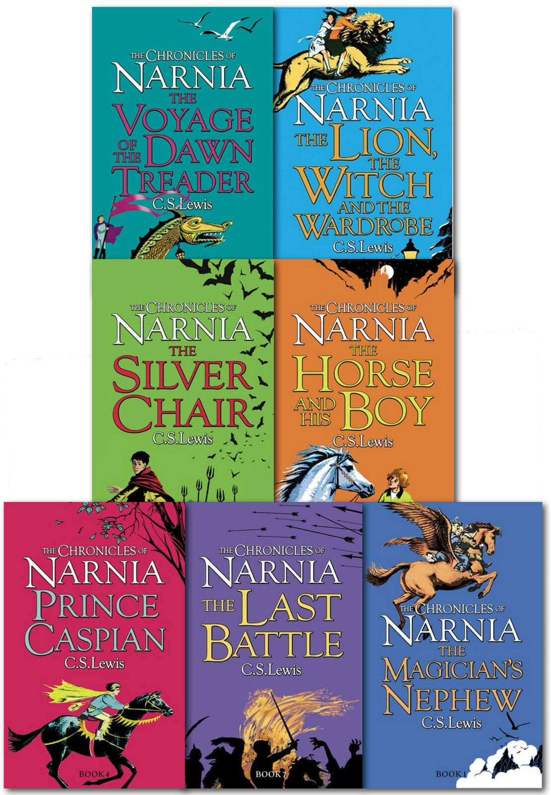 Chronicles of Narnia Box Set Paperback – Box set 2010
