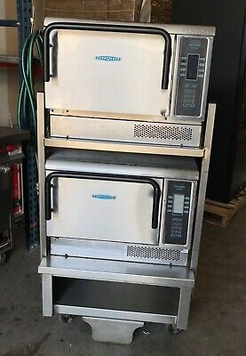 2009 Double Stack Turbochef Tornado Ngc Convections Oven W Stand Nice