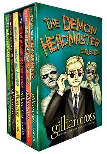 The Demon Headmaster Collection Gillian Cross 6 Books Box Gif Set