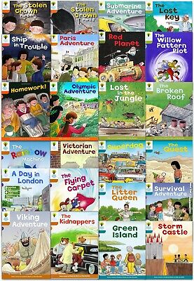 Oxford Reading Tree Biff Chip Kipper Stories Books Collection Set Pack Level 5-9