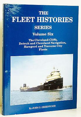 Fleet Histories Vol 6 Great Lakes Ship Hawgood Detroit Cleveland Traverse City