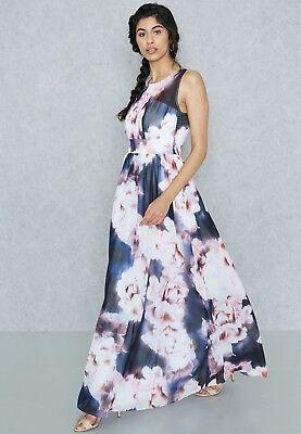 BNWOT Dorothy Perkins Floral Maxi Dress Size 8