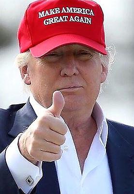 Make America Great Again Hat RED Donald Trump 2016 Adjustable Mesh Cap