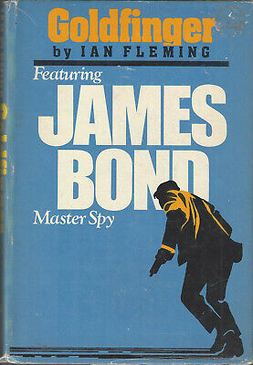 IAN FLEMING - GOLDFINGER - 1959 w/DJ (RARE FORMAT) for sale  Shipping to India