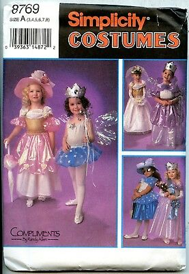 Halloween Costumes For 3 Females (Mix or Match Costumes for Halloween /Dress Up- Simplicity Sewing Pattern Sz)