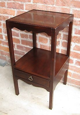 Henredon 18thC Style Chippendale Mahogany Side Table Wash Stand