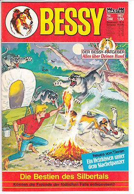 BESSY Nr. 867   Die Bestien des Silbertals   Bastei GB   1. Auflage   Z1+