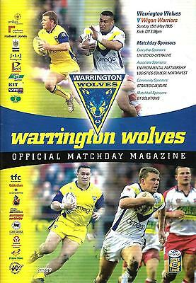 Warrington v Wigan - Super League - 2005