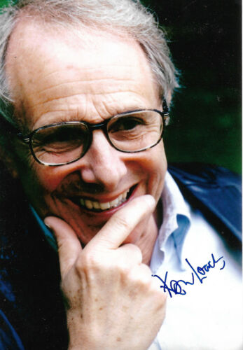 Ken Loach Director signed 8x12 inch photo autograph
