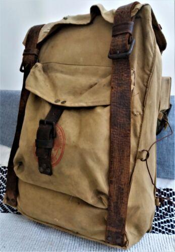Vintage 1960s Scout rucksack and equipment bushcraft woodman