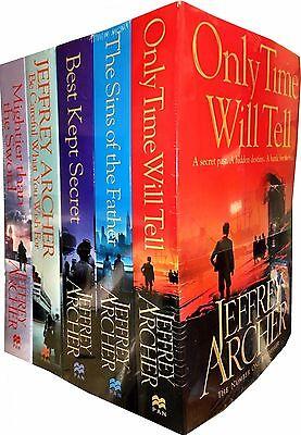 Jeffrey Archer The Clifton Chronicles Collection  5 Books Set Best Kept