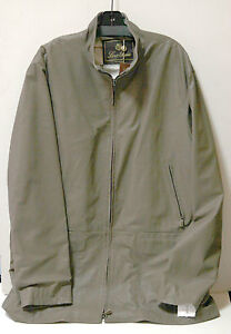 NWT $5495 Neiman Marcus Loro Piana Mens brown leather Urban Car Coat sz XXL FS