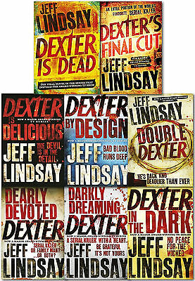 Jeff Lindsay Novel Dexter Series Collection 8 Books Set Dexter Is Dead Final Cut