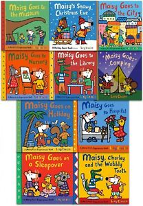 Maisy Mouse First Experiences Collection 10 Books Set in a ZipLock Bag Gift Pack