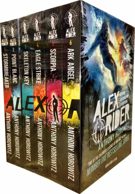 Alex Rider Collection 6 Book Set Pack Anthony Horowitz Young Spy Children Novel
