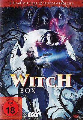 Geister In Filmen (Witch Box - 3 DVDs mit 8 Filmen - Neu und originalverpackt in Folie)