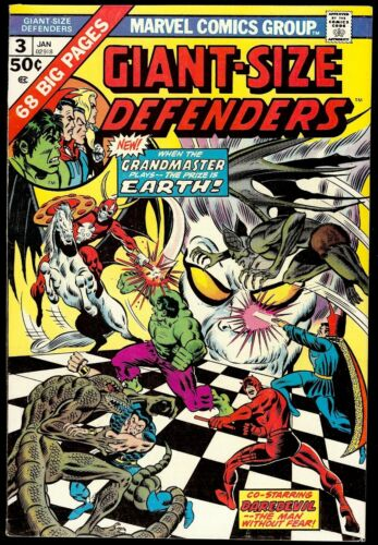 Giant-Size Defenders #3...VF 8.0...First appearance of Korvak
