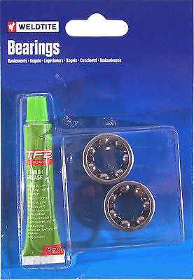 Weldtite Bike Ball Bearing 1 4  Lithium Grease Hub Wheel Rear Lubricant Bearings
