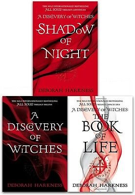 Deborah Harkness All Souls Trilogy 3 Books collection Set NEW Shadow of Night