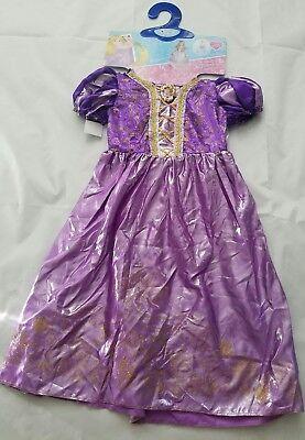 Girl's Disney Princess Rapunzel Dress Halloween Costume, Size M (7-8)