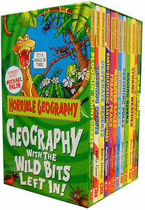 Horrible-Geography-Collection-12-Books-Box-Gift-Set-Horrible-Histories-Series