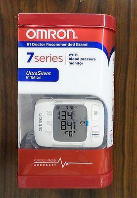 OMRON - 7 SERIES - WRIST BLOOD PRESSURE MONITOR - MODEL BP652 - WHITE NEW