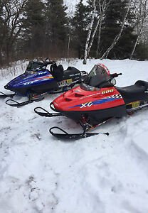 1999 Polaris snowmobiles *Reduced