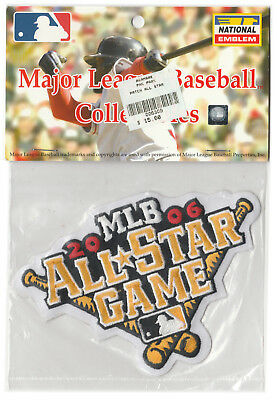 2006 ALL STAR GAME AT PITTSBURGH PIRATES OFFICIAL MLB BASEBALL JERSEY PATCH MINT Game Official Mlb Baseball Jersey