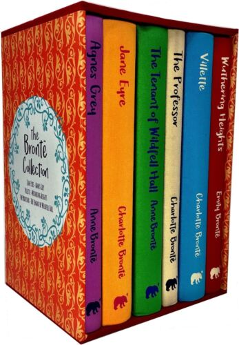 The Bronte Collection 6 Book Set Deluxe Hardback, Jane Eyre, Agnes Grey, The Pro