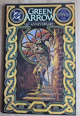 """DC Comics, """"Green Arrow"""" 1991 Annual # 4 , Great Condition"""