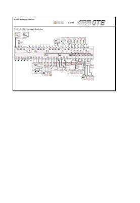 ▶Factory Ferrari 488GTB Wiring Diagrams Manual