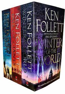 Ken Follett Century Trilogy Collection 3 Books Set Edge of Eternity, Winter