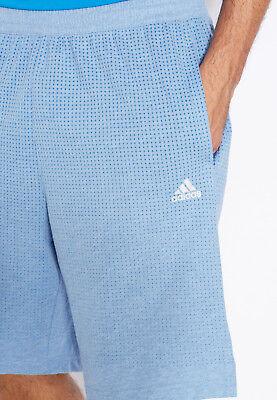 Adidas Training Wear (Mens Adidas Shorts Light Blue Training Shorts Lounge Wear Adidas Aero Knit)