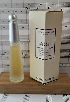 Vintage L'Eau D'Issey by Issey Miyake EDT spray  .33oz 10ml NIB perfume