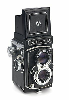 Yashica D Replacement Cover - Laser Cut Recycled Leather - Moroccan