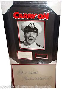 Kenneth Williams SIGNED AUTOGRAPH Carry On AFTAL UACC RD