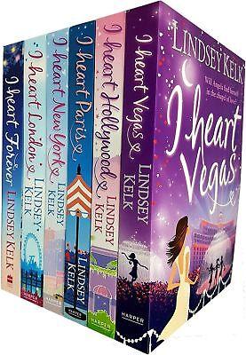 I Heart Series Collection Lindsey Kelk 6 Books Set Pack Vegas, Forever, New York