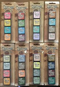 Tim Holtz mini distress stamp pads.  New.  Four pack. Henley Brook Swan Area Preview
