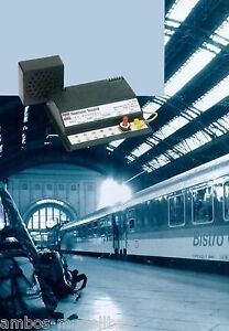BUSCH 5760 Realistic Sound, Am Bahnhof 1, Geräusche, Neu