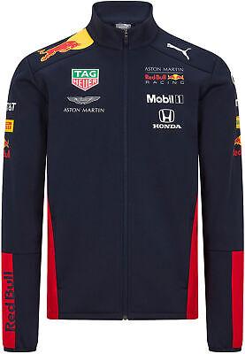 PUMA Red Bull Racing F1 2020 Men's Softshell Jacket Navy Blue
