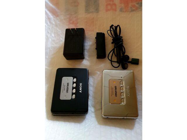 2 Sony walkman Cassette WM EX808