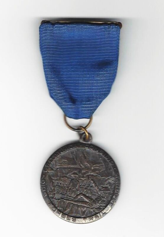BOY SCOUT   FORBES TRAIL MEDAL     OHIO