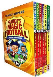 Frankies Magic Football Series 1 Frank Lampard Collection 6 Books Box Set (1-6)