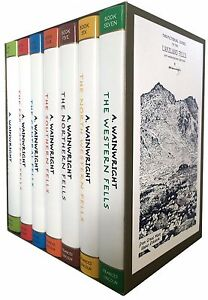Pictorial Guide To Lakeland Fells Collection 7 Books Boxed Set 50th Anniversary